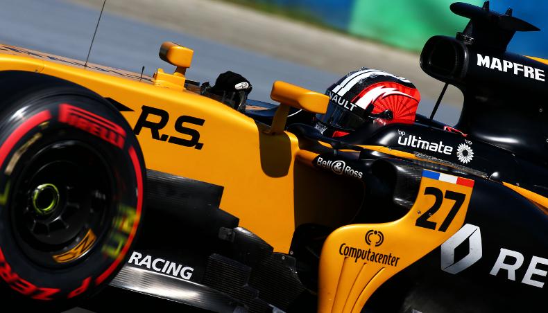 Belgian GP: F1 cars under surveillance - Groupe Renault