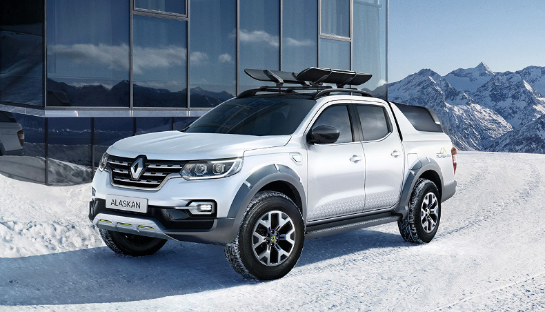 The pick-up Renault Alaskan
