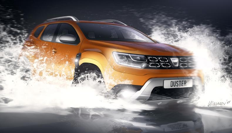 2017 - Nouveau Dacia DUSTER - Genèse Design