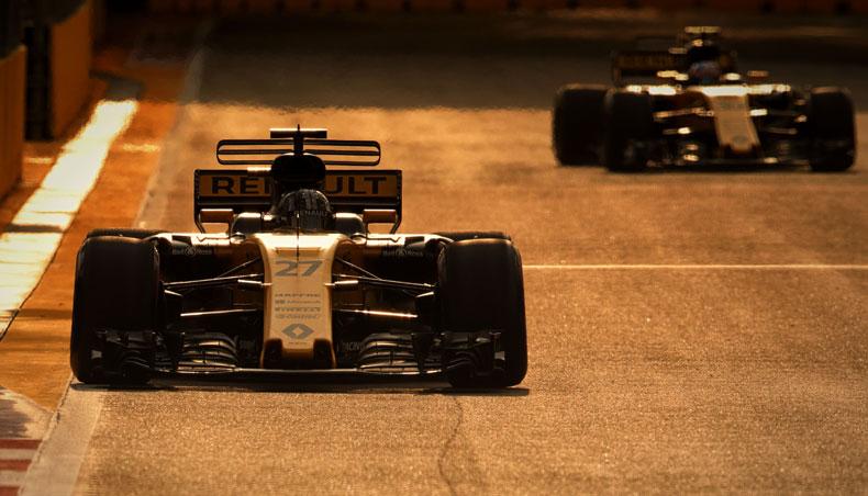 2017 - Renault Sport Formula One Team - GP Singapour