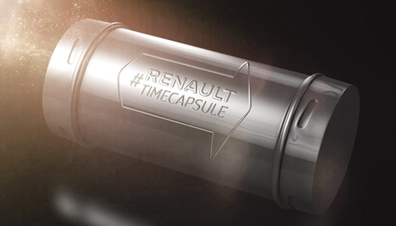 Twitter Time Capsule: a social-media innovation from Renault at the Frankfurt Motor Show
