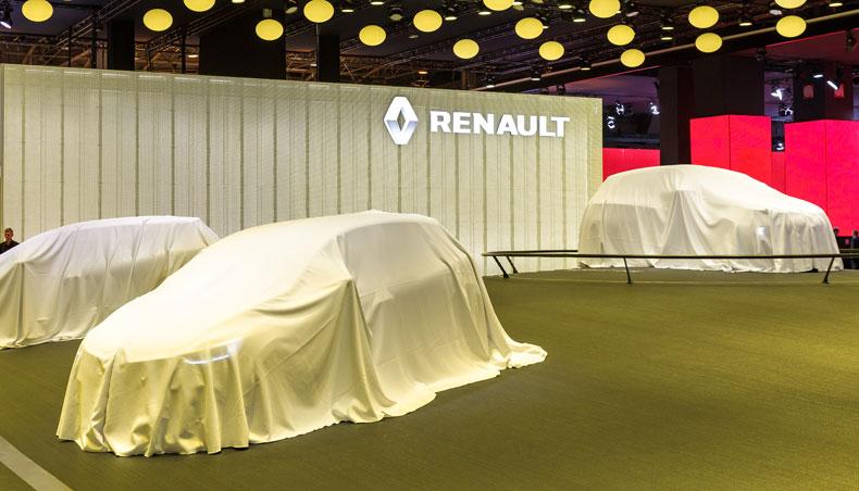 2017 - Conférence de presse - Salon de Francfort - Renault
