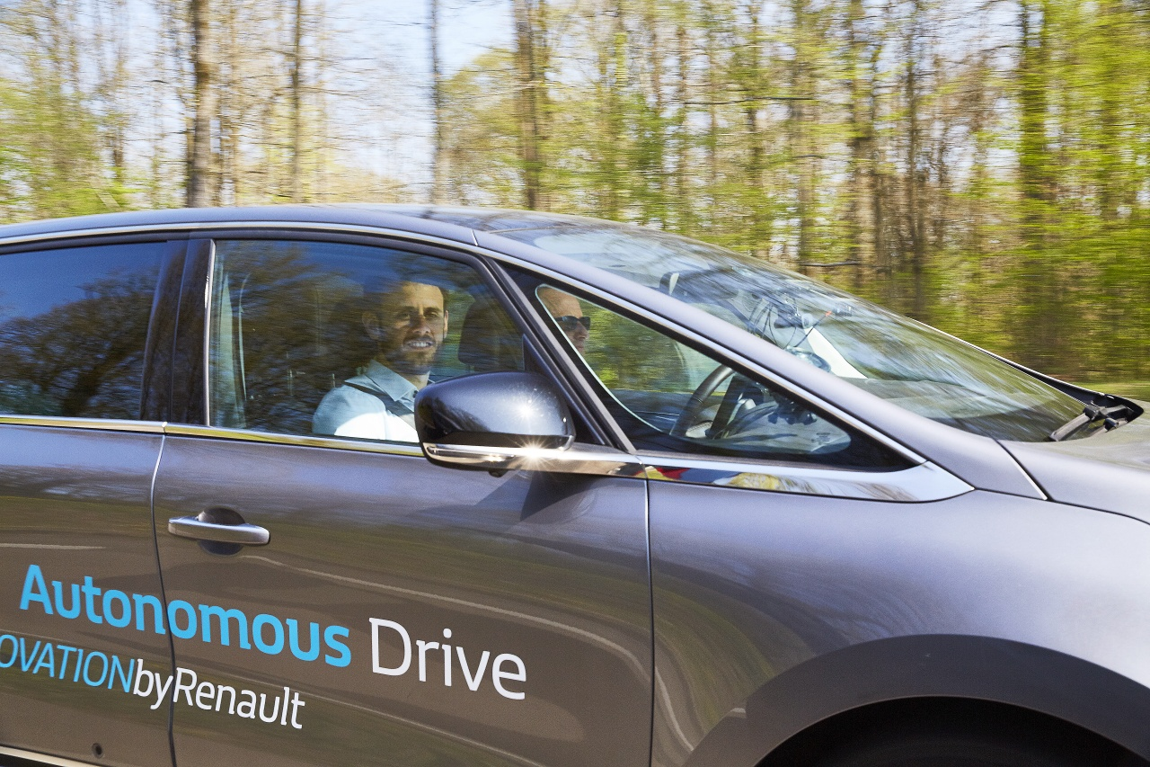 2017 - Essais Vehicule Autonome - Groupe Renault