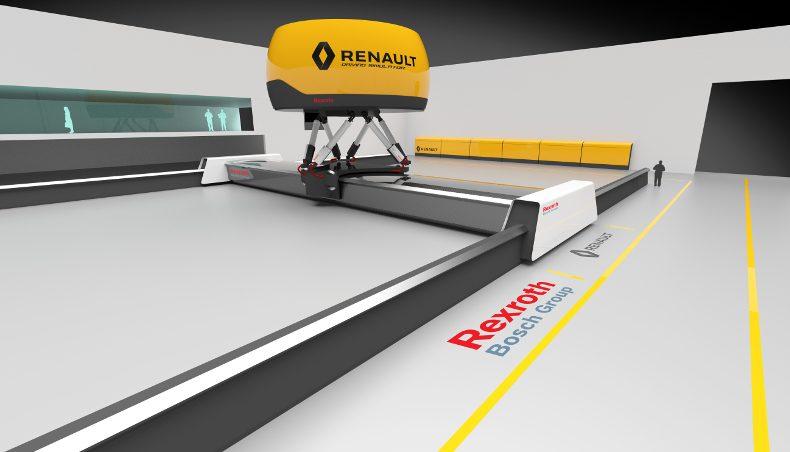 2017 - Recherche - Vehicule Autonome - Groupe Renault