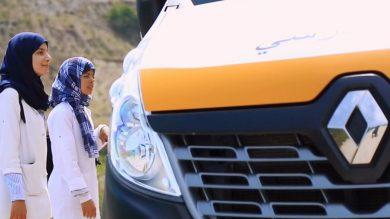 Au Maroc, Renault soutient la Fondation « l'Heure Joyeuse » et facilite le transport des écoliers