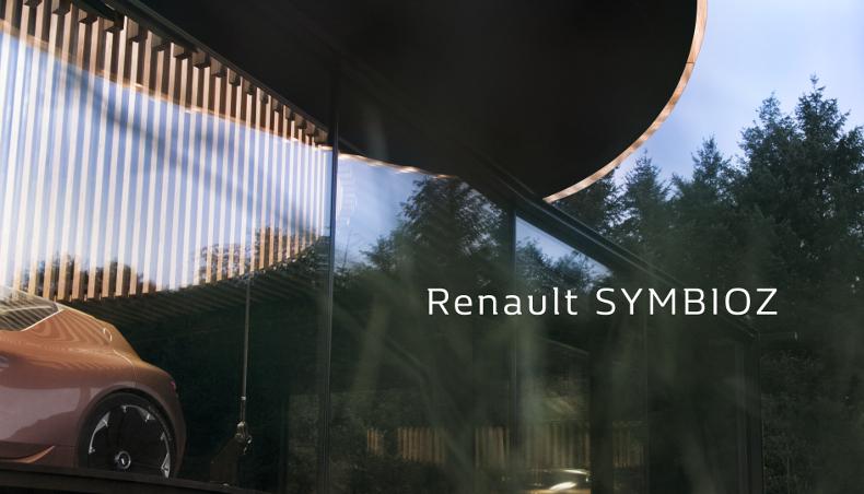 2017 - Teaser Renault SYMBIOZ - Concept-Car