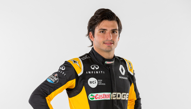 2017 - Renault Sport Formula One Team - GP F1 USA - Carlos Sainz