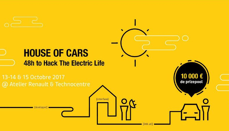 "Groupe Renault explores disruptive ideas with the ""House of cars"" hackathon"