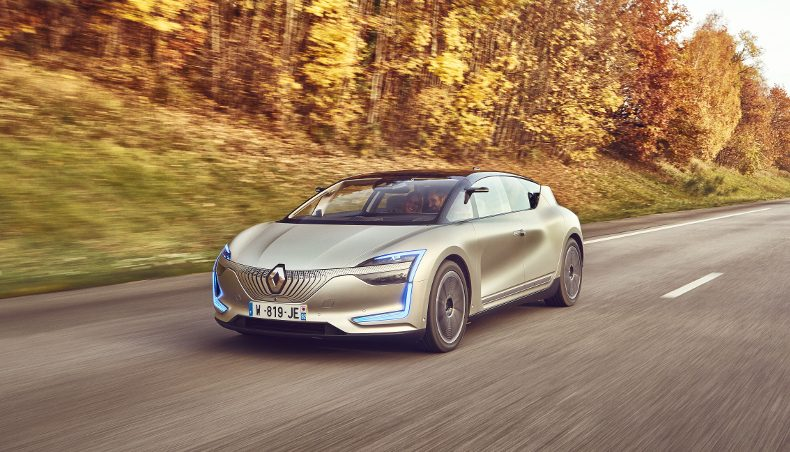 Renault SYMBIOZ Demo Car: innovative, people-focused design