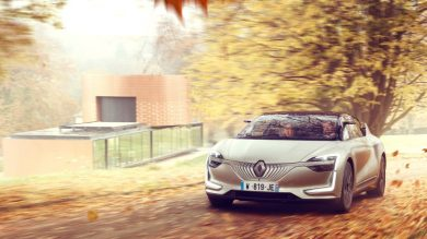 Renault SYMBIOZ Demo car: technologies for traveling well-being