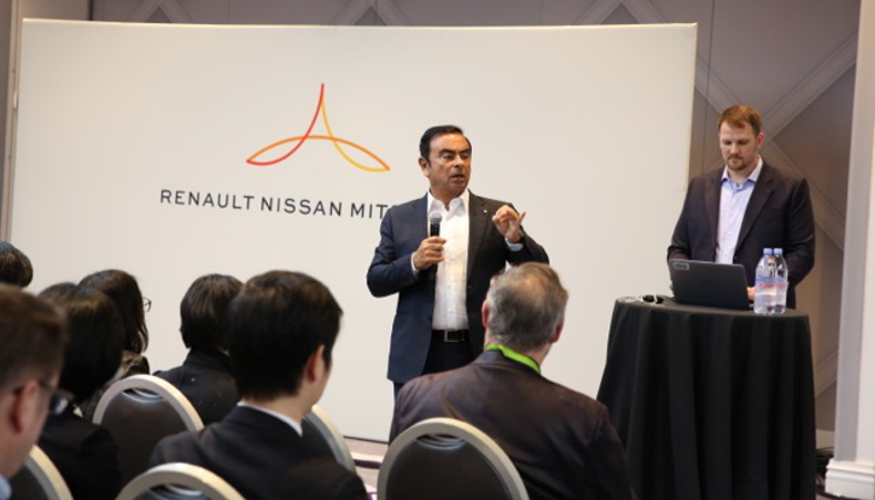 2018 - Carlos GHOSN - Chairman and chief executive officer of Renault-Nissan-Mitsubishi - CES