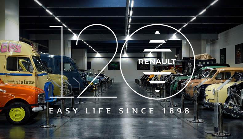 120 ans de Renault - Collection Renault Classic