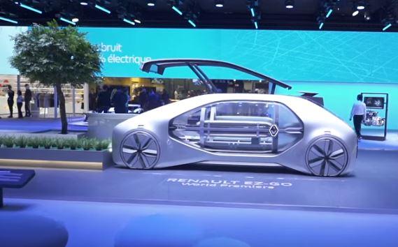 Renault EZ GO - Fully autonomous shared mobility - Geneva Motor Show 2018