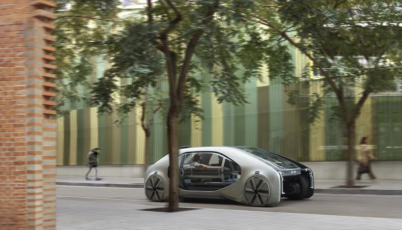 2018 - EZ-GO - Concept-Car - Geneva Motor show