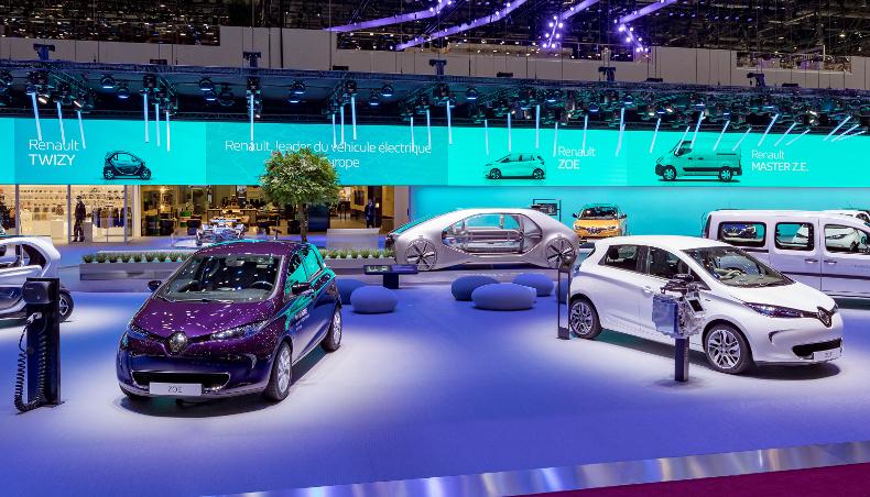 Flashback 2018 Geneva Motor Show And Unveiling Of Ez Go Groupe