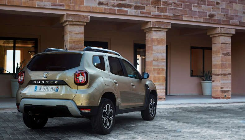 2017 - Dacia Duster dos - Essais Presse en Grèce