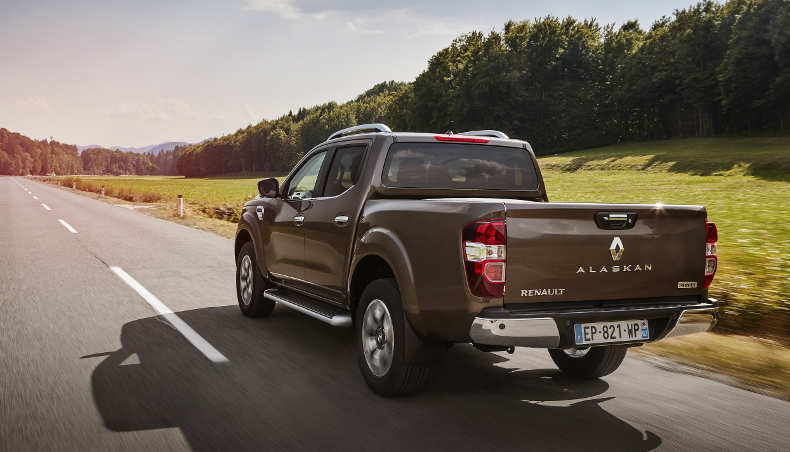 Le pick-up Renault Alaskan