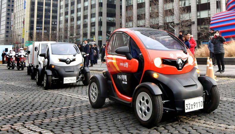 2018 - Renault Twizy - La Poste - Corée Séoul