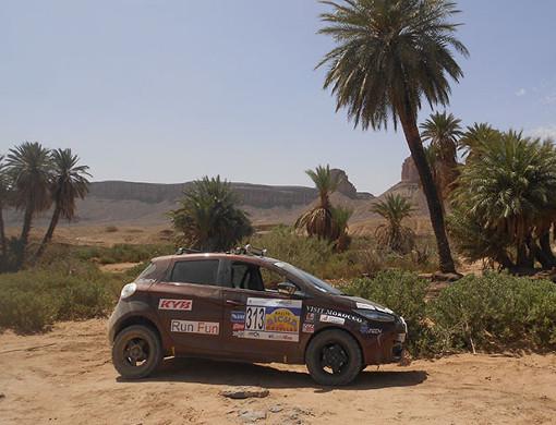 La Zoé en mode tout terrain : Excellent classement au rallye des gazelles!!! 2018-renault-zoe-rallye-des-gazelles-situation-