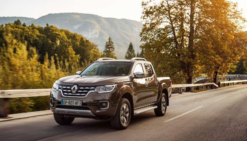 2017 - Renault ALASKAN - Essais Presse en Slovénie