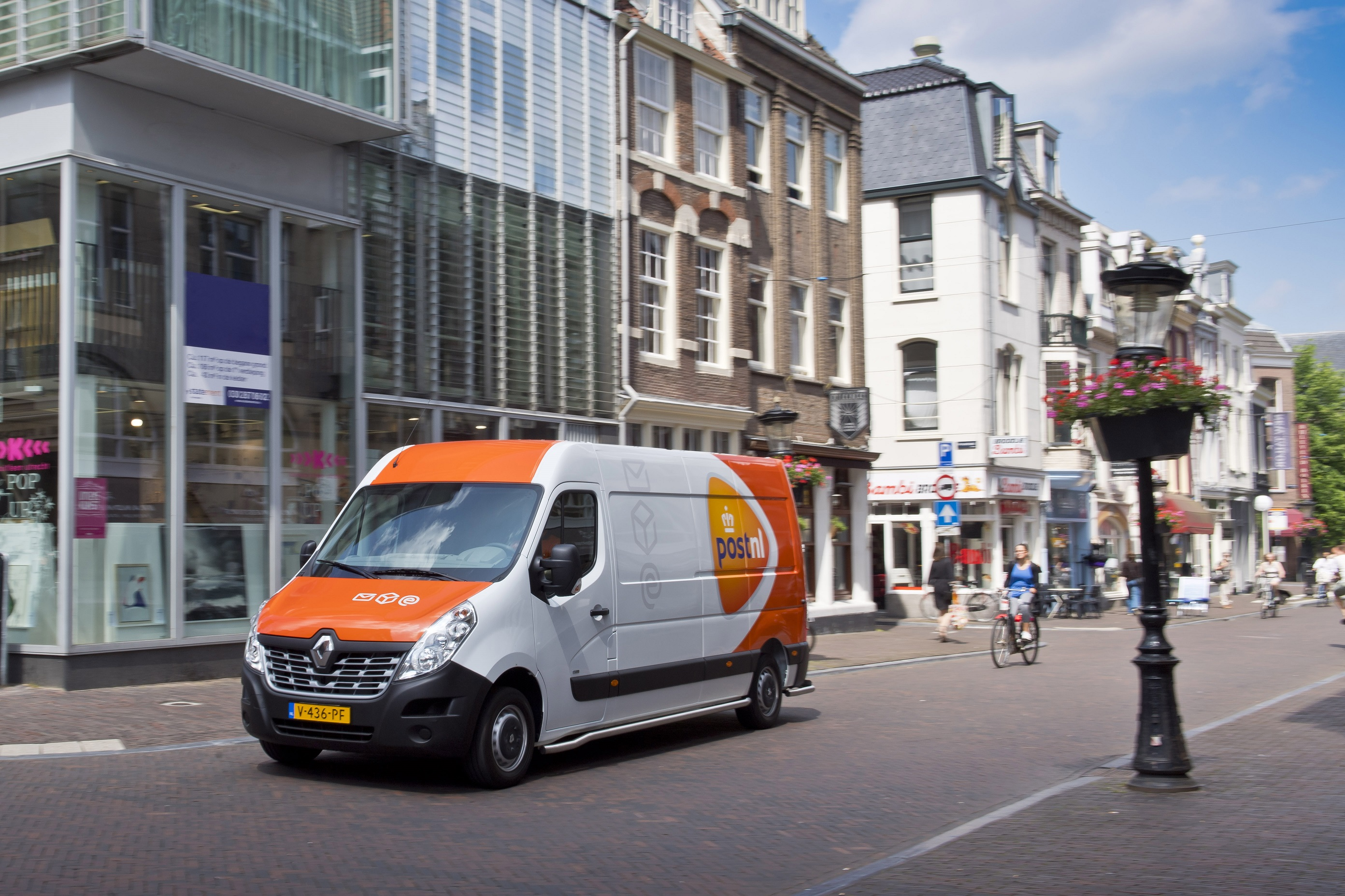 Renault Master Z.E. - en situation - Pays-bas