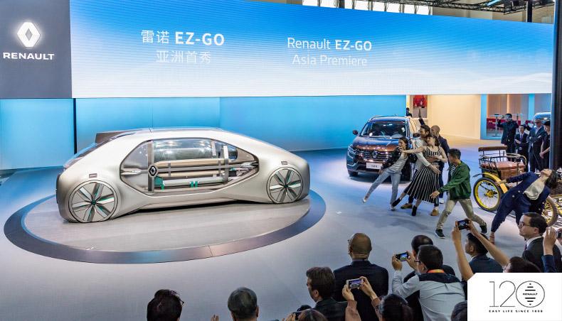 2018 - Renault EZ-GO - Pekin Motorshow