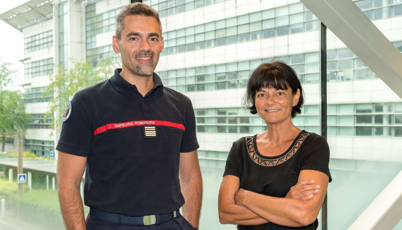 Portraits - Christophe Lenglos - sapeur-pompier - Claire Petit-Boulanger - Groupe Renault