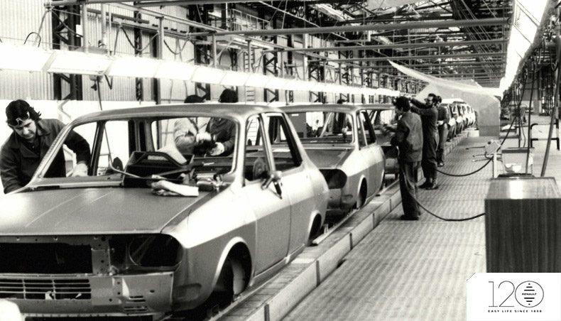 Groupe Renault - Usine de Palencia - 120 ans