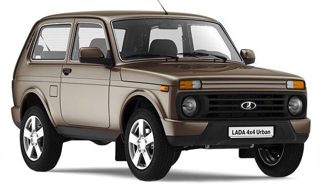 Aperçu de quelques modèles : Lada 4x4 Urban.