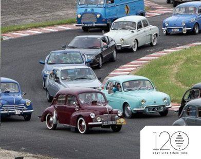 Renault celebrates 120 years