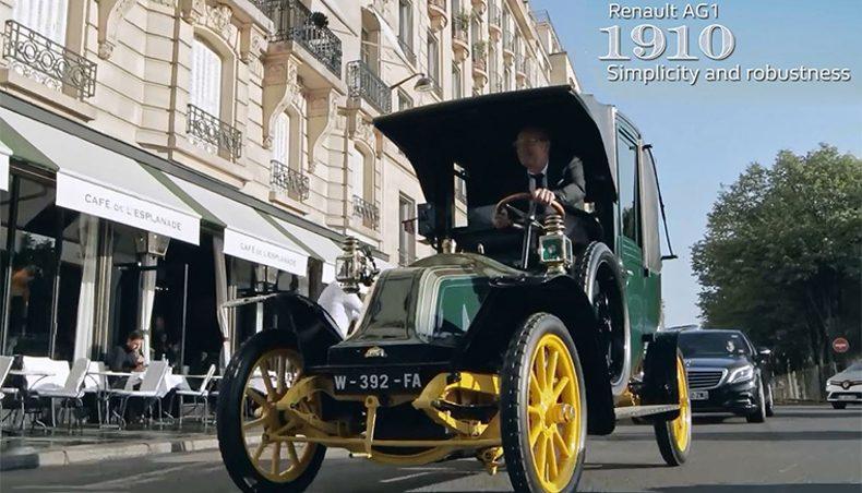 Marcel Cab - 1910 - Renault AG1