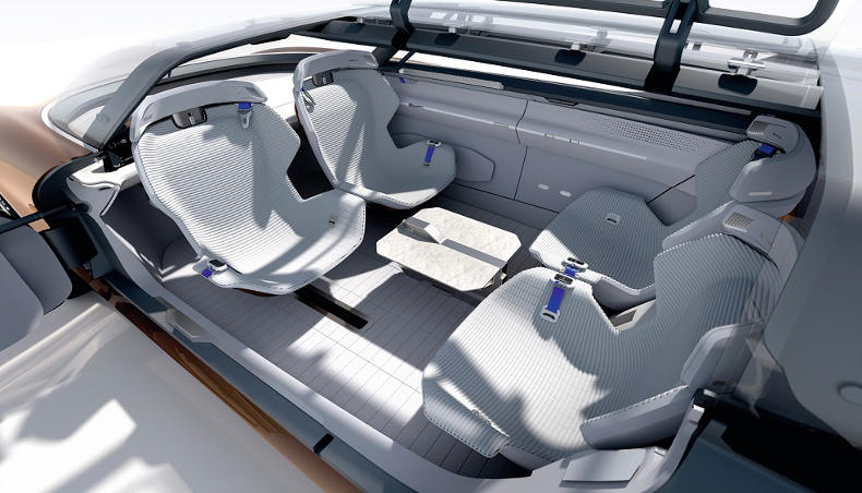 Inside the SYMBIOZ Concept car
