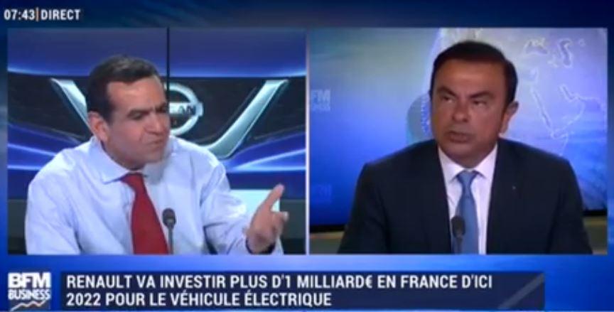 Renault va investir plus d' un milliard d'euros en France d'ici 2020 pour le véhicule électrique