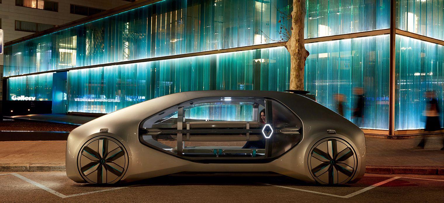Révélation du nouveau concept Renault EZ-GO