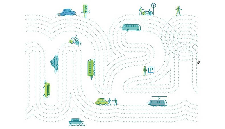 2018 - Groupe Renault - Region Ile de France - mobilité - Pictogramme