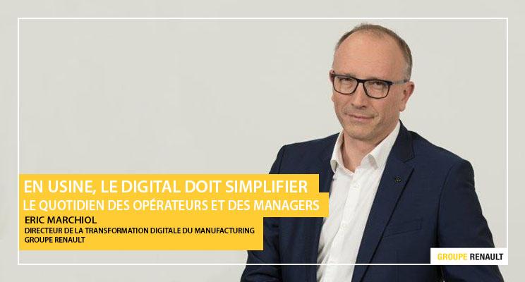 Eric Marchiol - Directeur de la transformation digitale du manufacturing