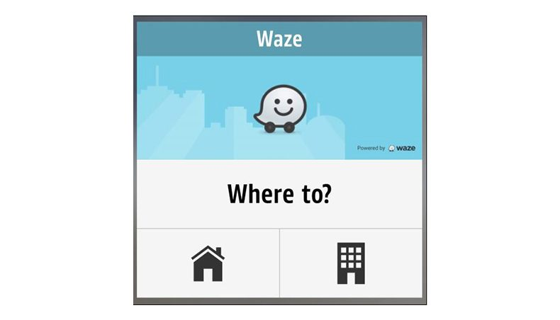 Waze widget now available in R&Go