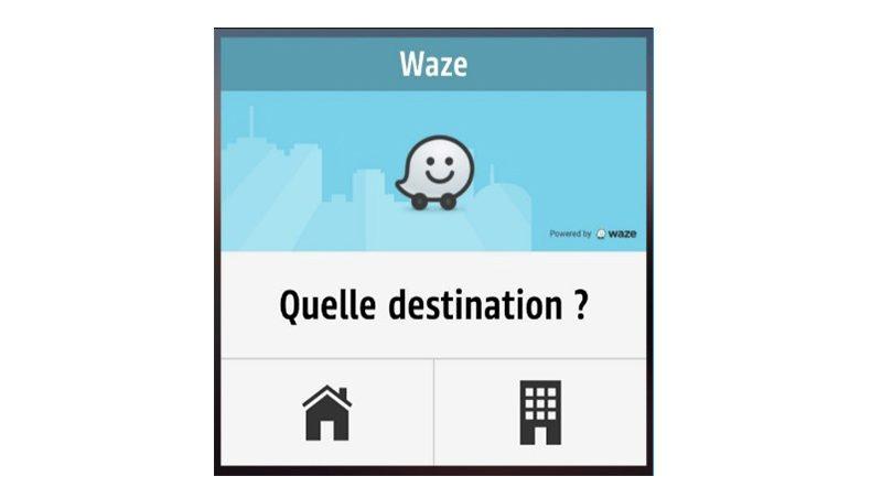 Le widget Waze désormais disponible dans R&Go