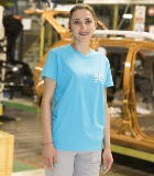 Portrait of Diana Davidoiu, Quality Controller at the Pitesti plant in Romania.