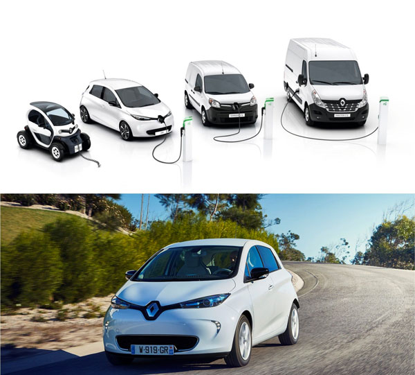 Groupe Renault Is Market Leader For Electric Vehicles In Europe