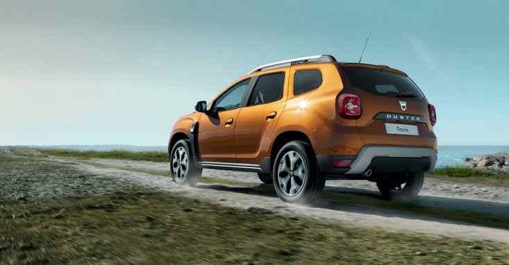 New Dacia Duster - in situation