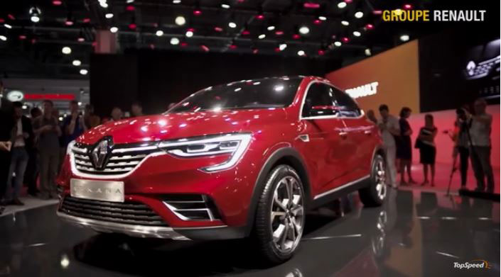 2018 Renault Arkana Unveiled at the Moscow Motor Show