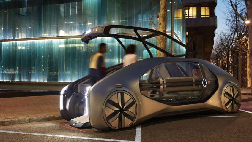 EZ-GO: A fully autonomous, zero emission concept from Renault