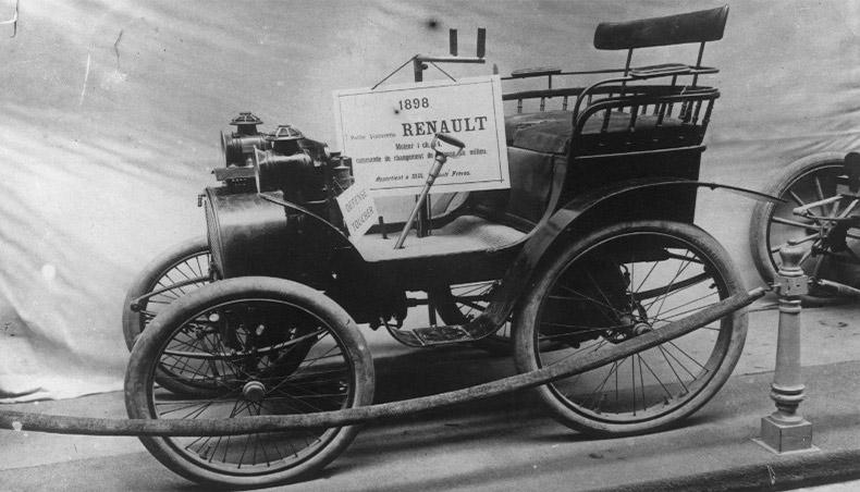 1898 - Exposition de la Renault Type A