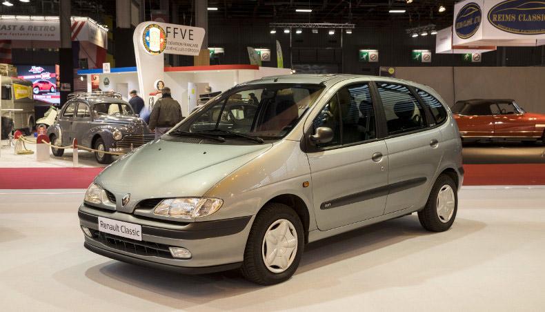 1998 - Présentation du Renault Scenic au Mondial de Paris