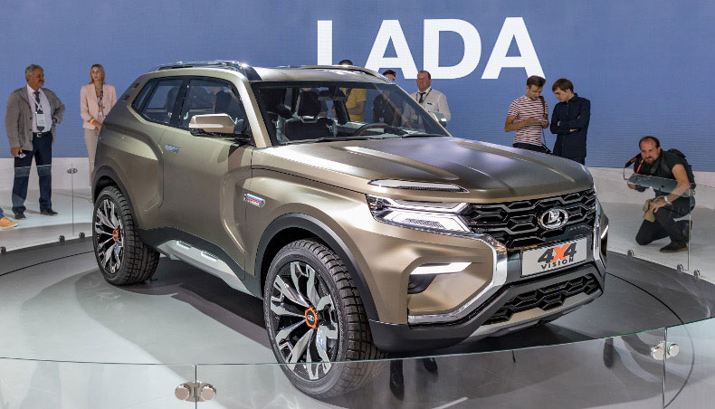 2018 - Concept-Car LADA 4x4 Vision au Salon International de l'automobile de Moscou