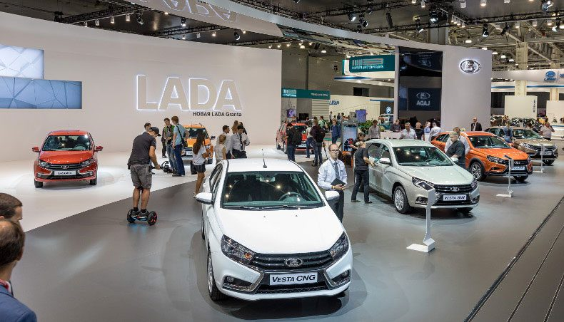 LADA au Salon International de l'automobile de Moscou