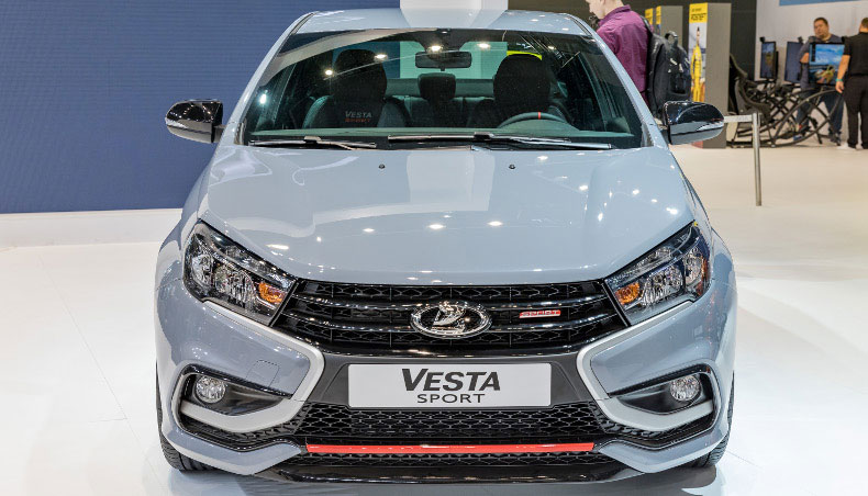 2018 - LADA Vesta Sport au Salon International de l'automobile de Moscou