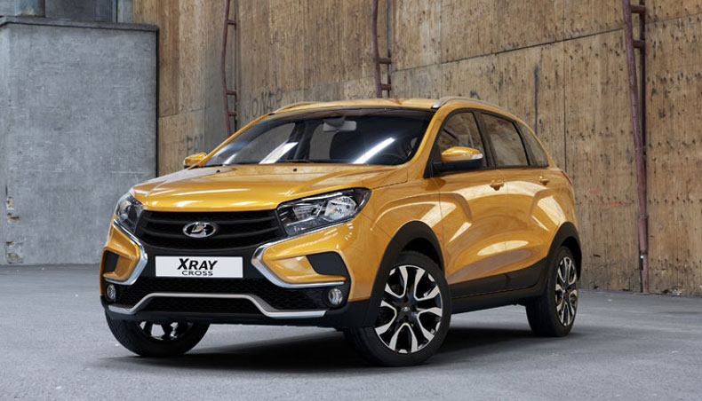 2018 - LADA XRay Cross 2 - in studio