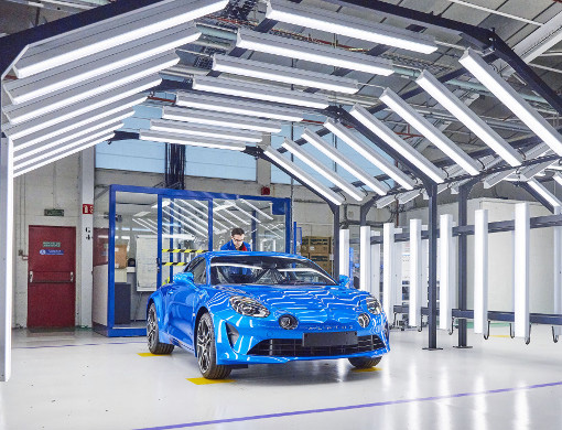 2018 - Dieppe, the manufacture of the Alpine A110